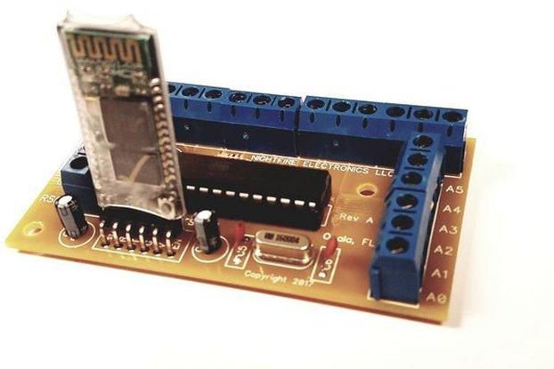 Arduino Bluetooth Breakout Board