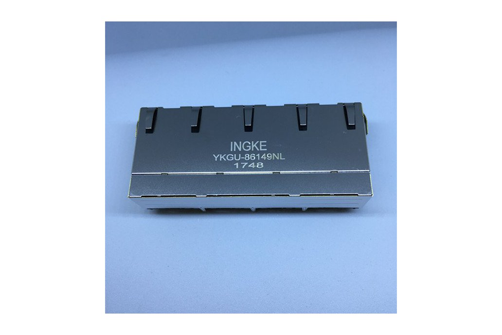 JG0-0026NL YKGU-86149NL 4 Port RJ45 Magnetic Jacks 1