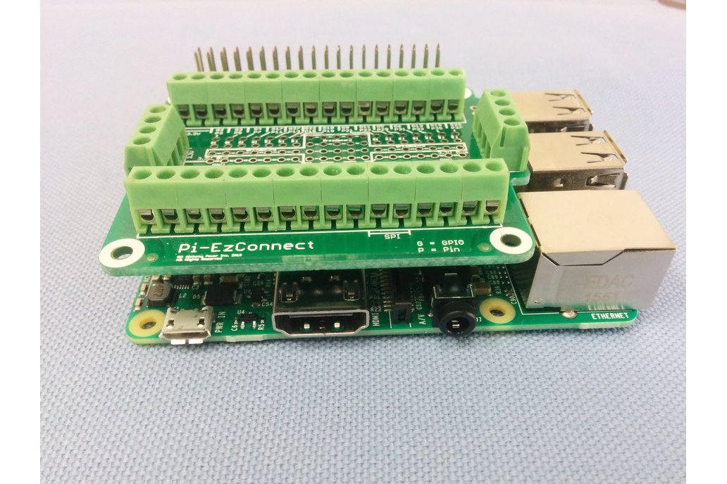Pi-EzConnect - easy to connect Raspberry  PI GPIO 6