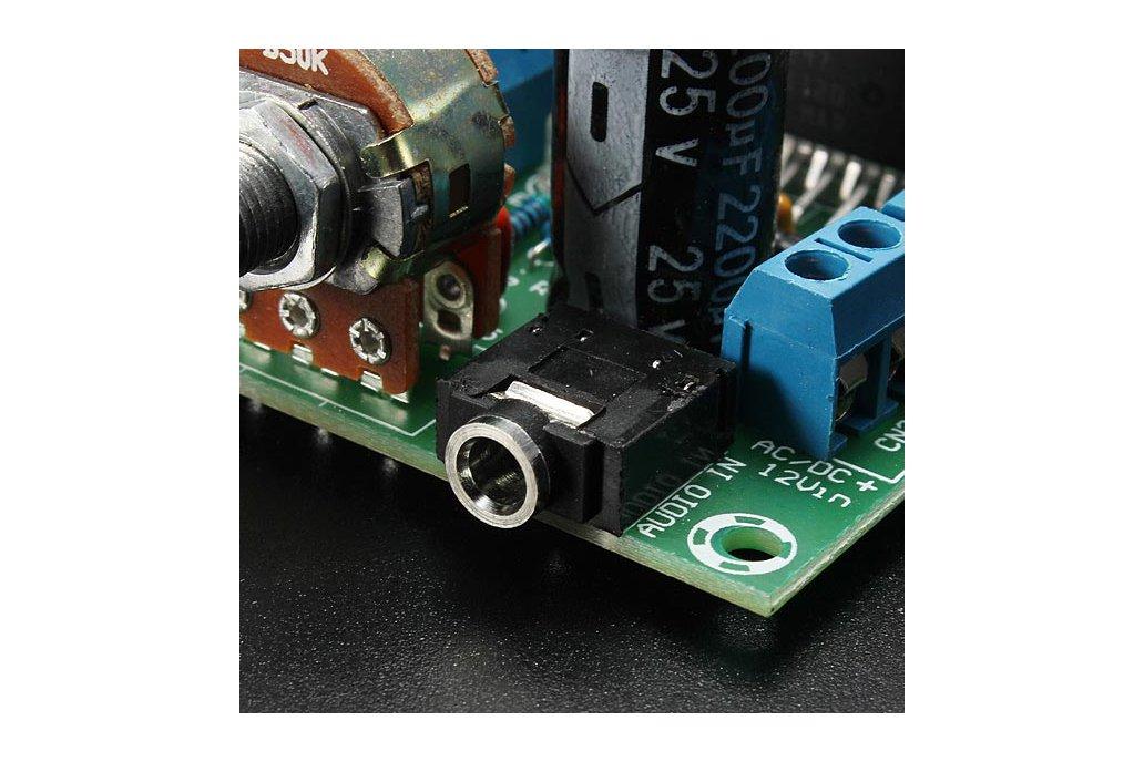 AC/DC 12V 2 x 15W TDA7297 Version B Digital Audio Amplifier Board Dual-Channel 4