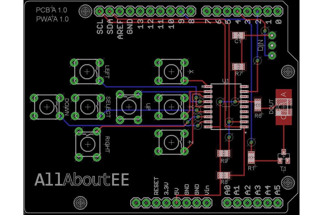 Infrared Remote Control Shield for Arduino 7