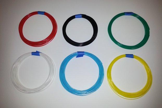 ABS/PLA Filament Sample (50 grams)