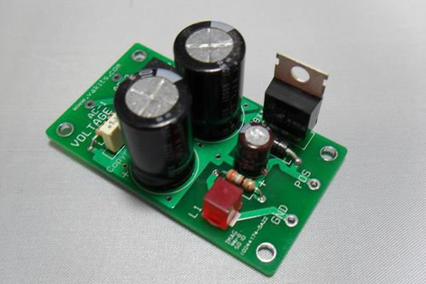 Positive 15v Power Supply Kit (#1772)