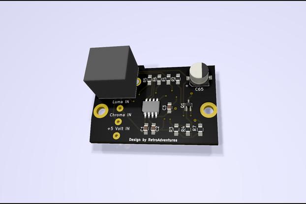 ZX Spectrum S-Video Modulator Replacement