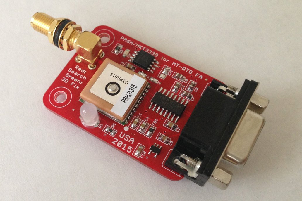 PA6H GPS with SMA for APRS Trackers 1