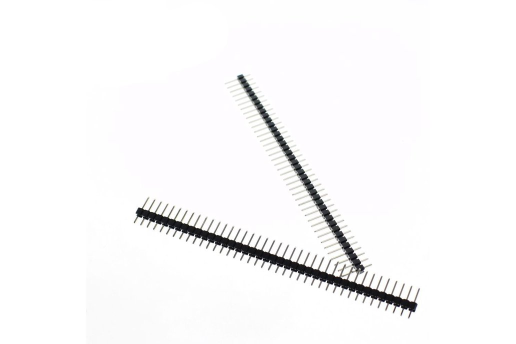 20pcs 40 Pin Single Row Male 4