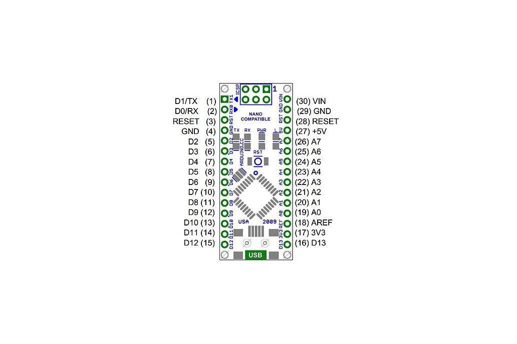 ATmega328P Nano V3 Controller Board 1