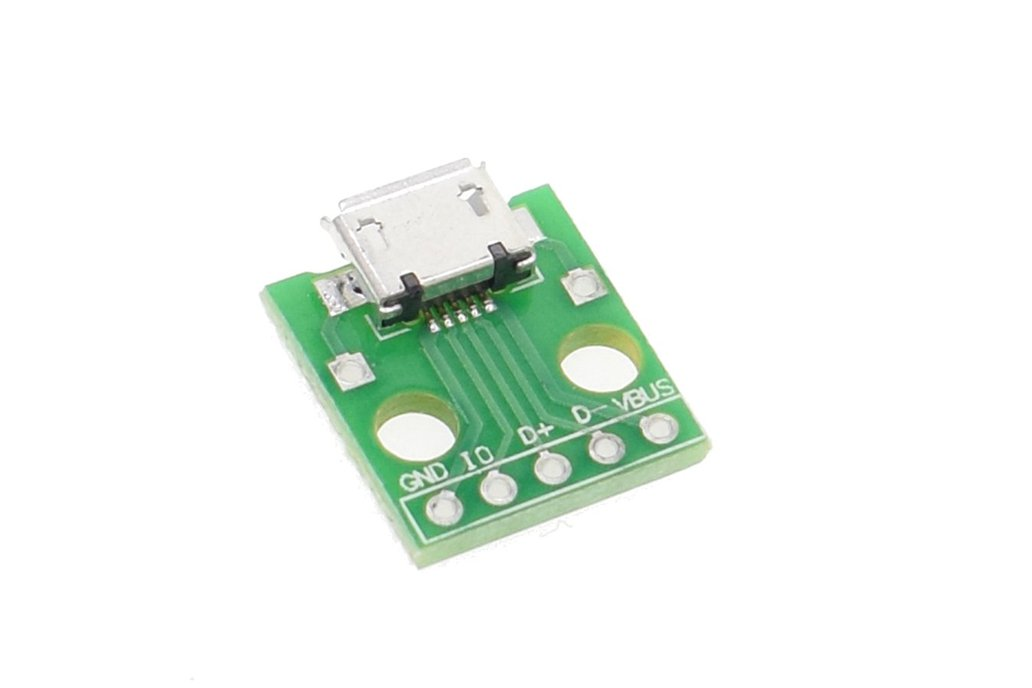 10pcs MICRO USB to DIP Adapter 1