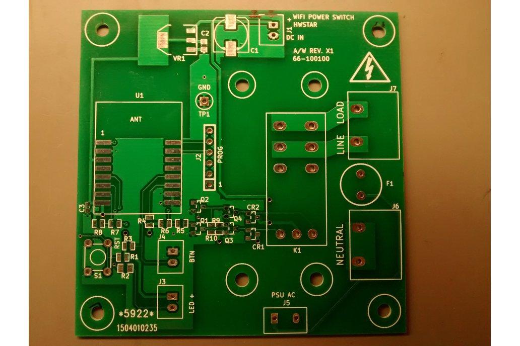 Board blank for ESP12-appliance_mod 1
