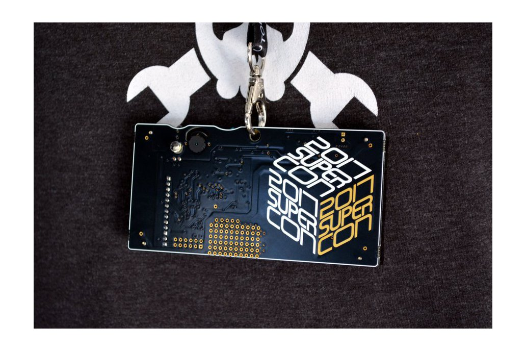 2017 Hackaday Superconference Badge 10