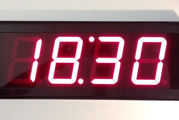 Indoor Wall LED Timer Clock