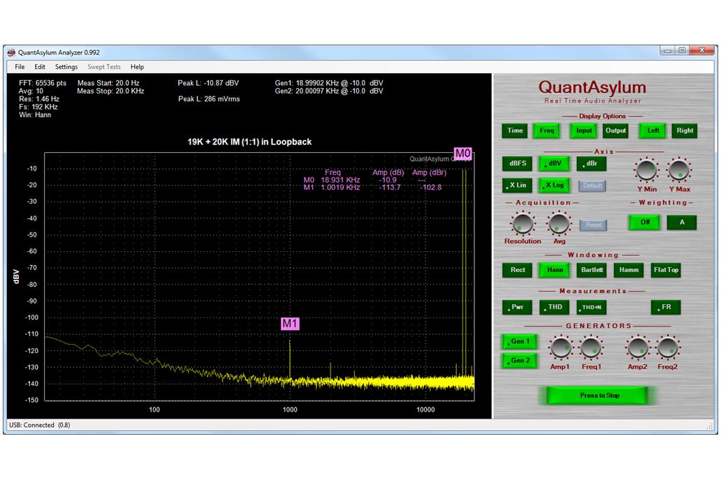 QuantAsylum QA400 Audio Analyzer 2