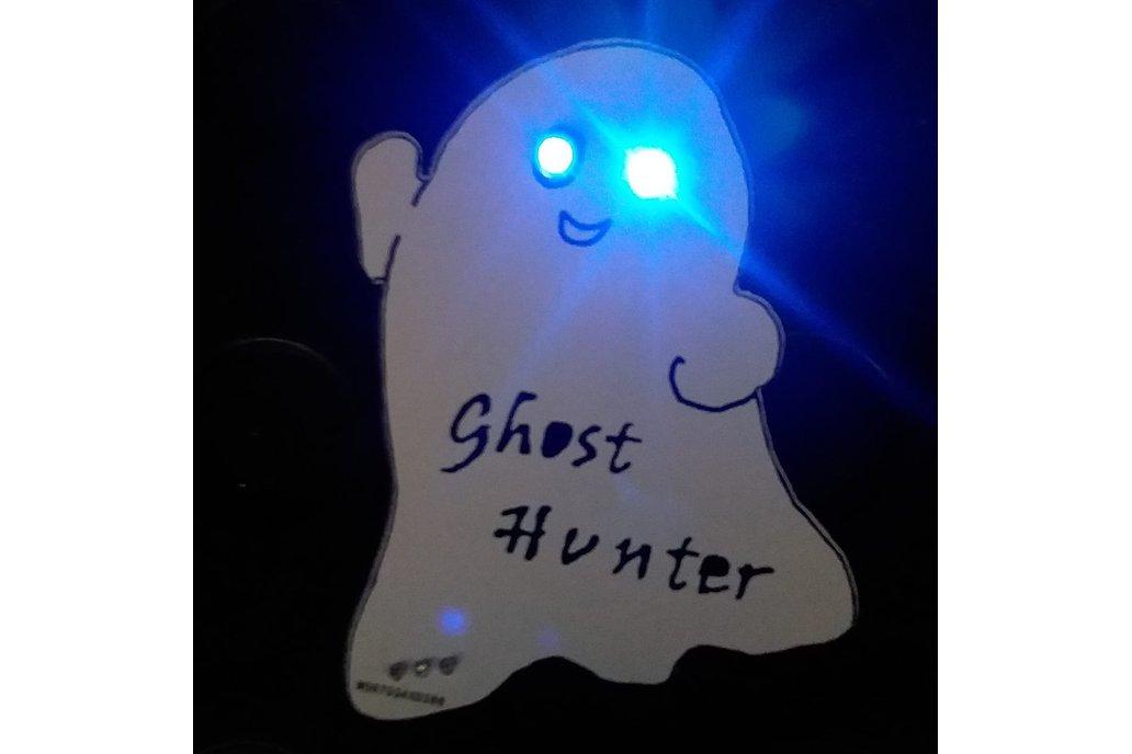 "Ghost Pin  -  ""Ghost Hunter"" 1"