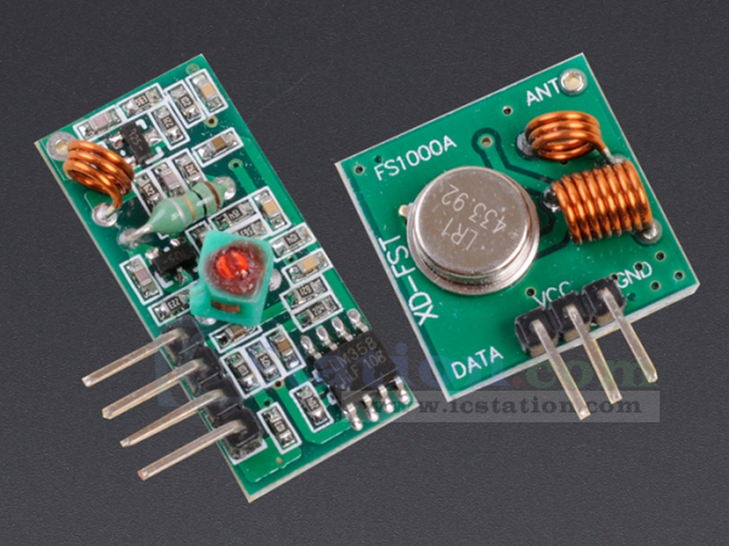 433mhz Rf Transmitter And Receiver Kit1402 From Icstation On Tindie How To Build Opamp Vhf Fm 1