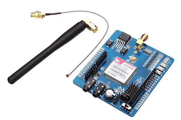 GSM/GPRS SIM900 Module ICOMSAT Expansion Board With Antenna Cable