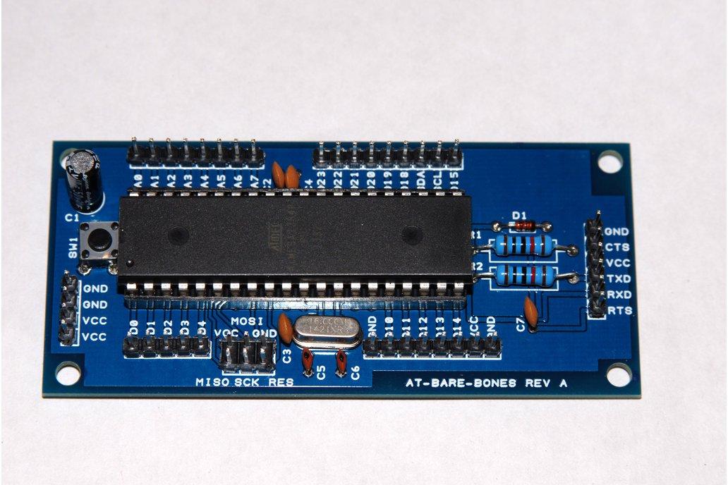 ATmega1284P Breakout board Ultra low current 1
