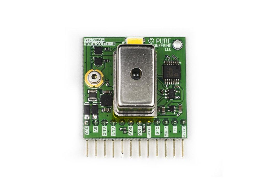 C12880MA MEMS u-Spectrometer and Breakout Board 1