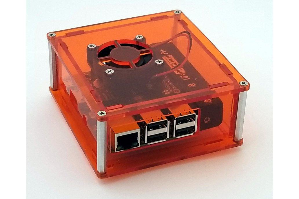 Enclosure for Raspberry Pi 3 and LiFePO4wered/Pi+ 1