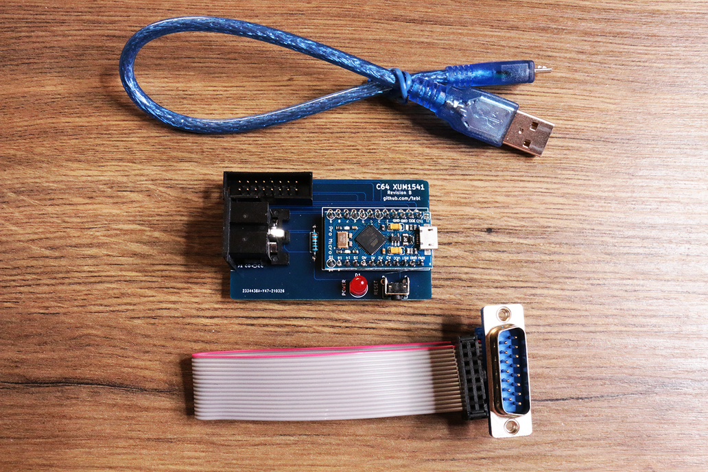 C64 XUM1541 Parallel + Serial - Connect your 1541 1