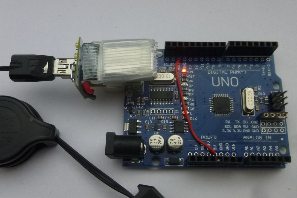 Lipo for Arduino Uno 1