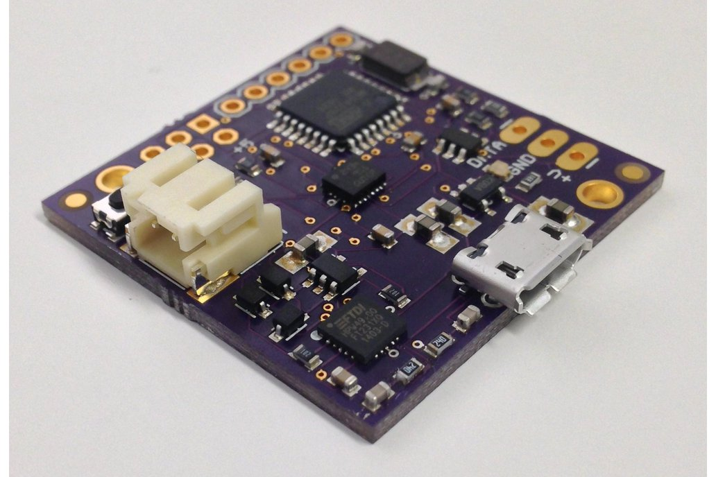 9 DOF IMU with LSM9DS1 and Atmega328p 1