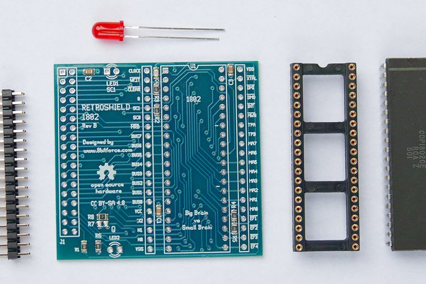RetroShield 1802 for Arduino Mega
