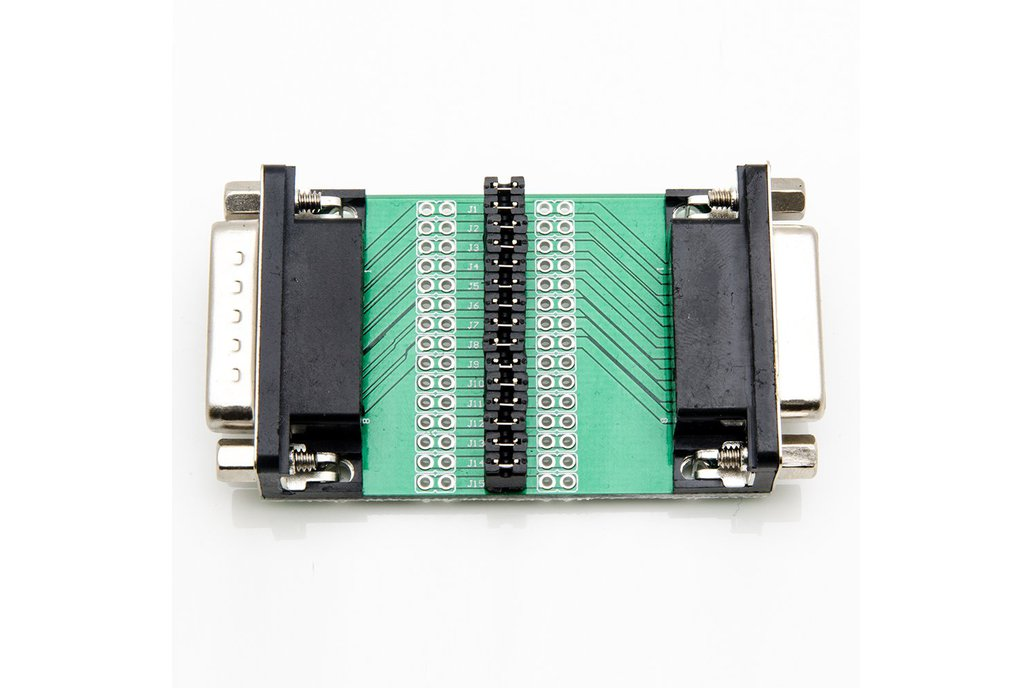 D-Sub Male/Female Board - DB15 1