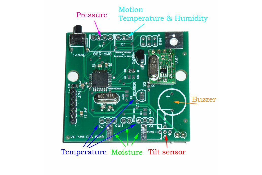 DIY Wireless Sensor board 2