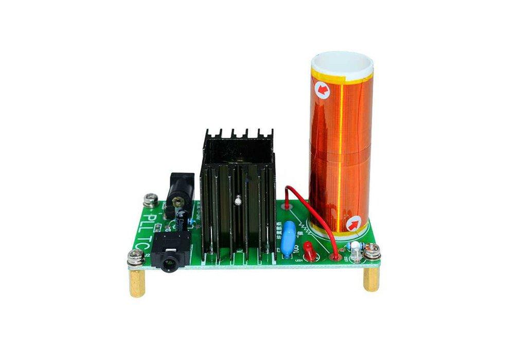 15W Mini Tesla Coil Plasma Speaker DIY Kits 1