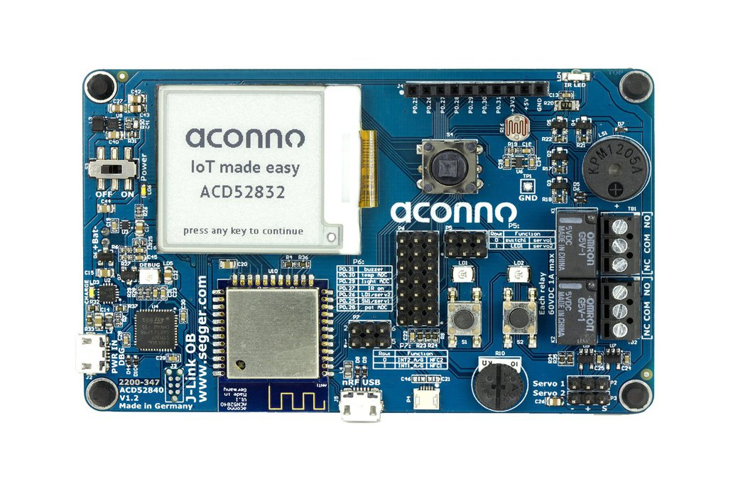 IoT Dev. Board ACD52832: Bluetooth smart, Sensorik 1