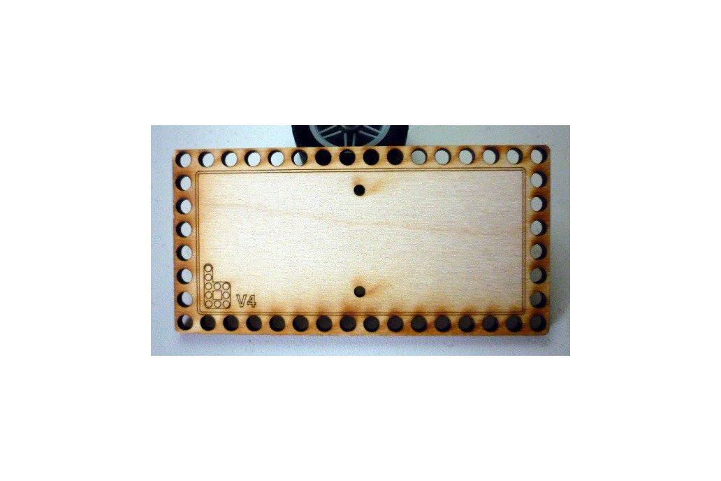 Bricktronics 6-AA Battery Holder Mounting Plate 1