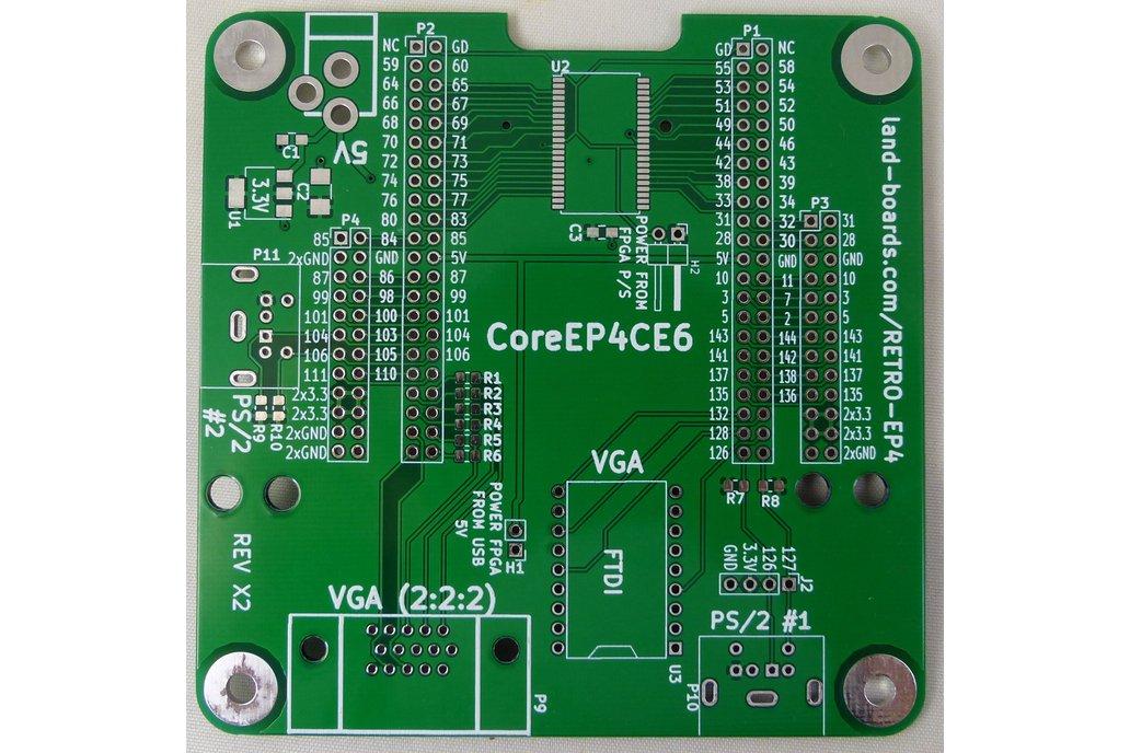 Z80, 6502, 6809, FPGA Multicomp PCB (RETRO-EP4) 1