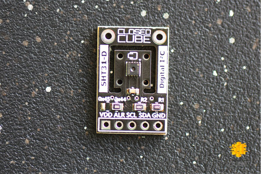 SHT31-D (Digital) Humidity & Temperature Sensor 2