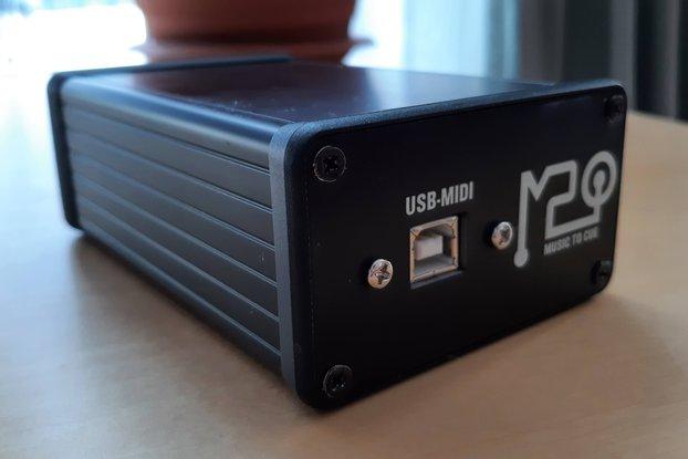 M2Q - Control your Chamsys console via MIDI