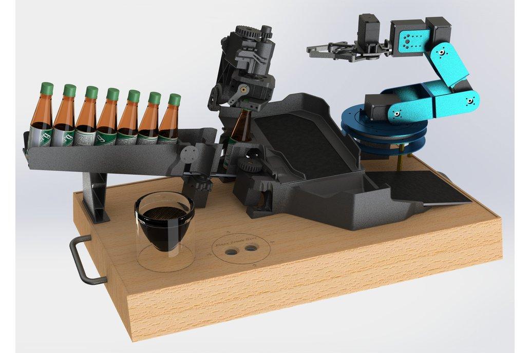 Desktop Bartender Robot 1