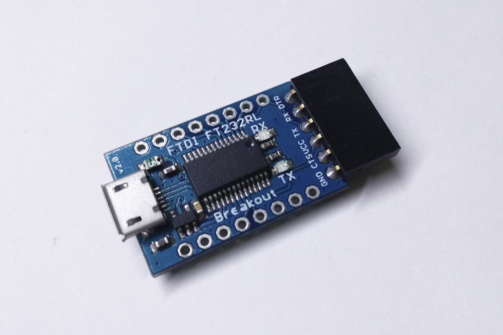 FTDI Breakout USB to UART/Serial (Genuine FT232RL) 1