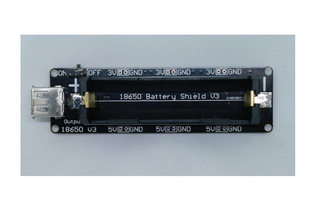 18650 Battery shield V3(RaspberryPi&Arduino) 1