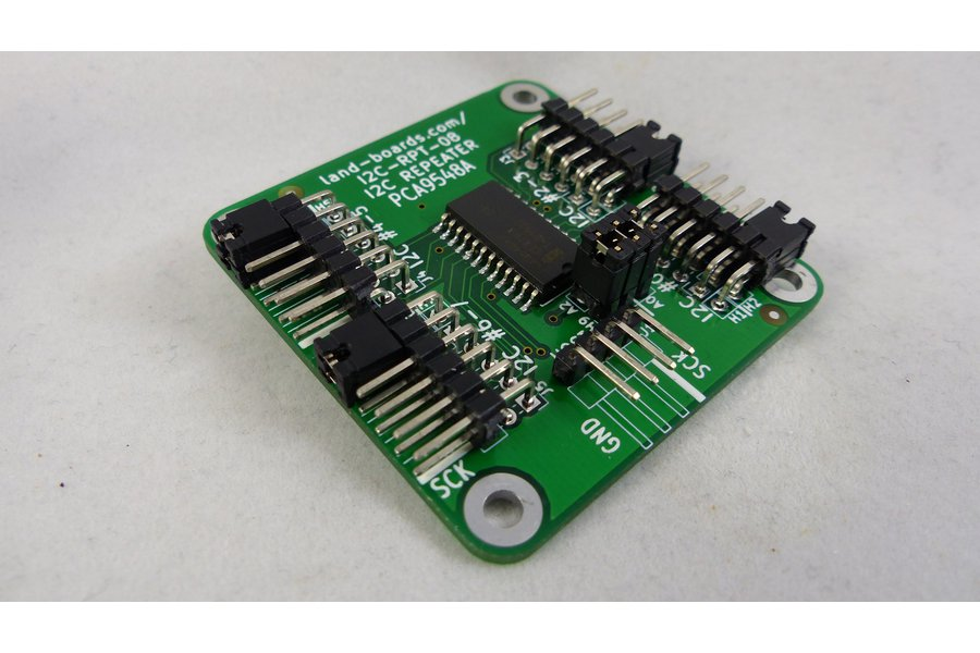 8-Channel I2C Repeater/Multiplexer
