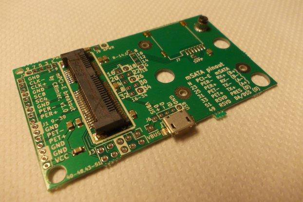 Mini PCI-E breakout