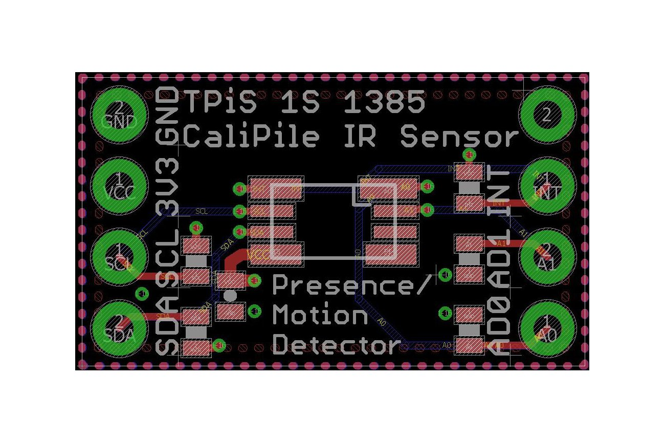 CaliPile™ TPiS1S1385 Presence and Motion Detector