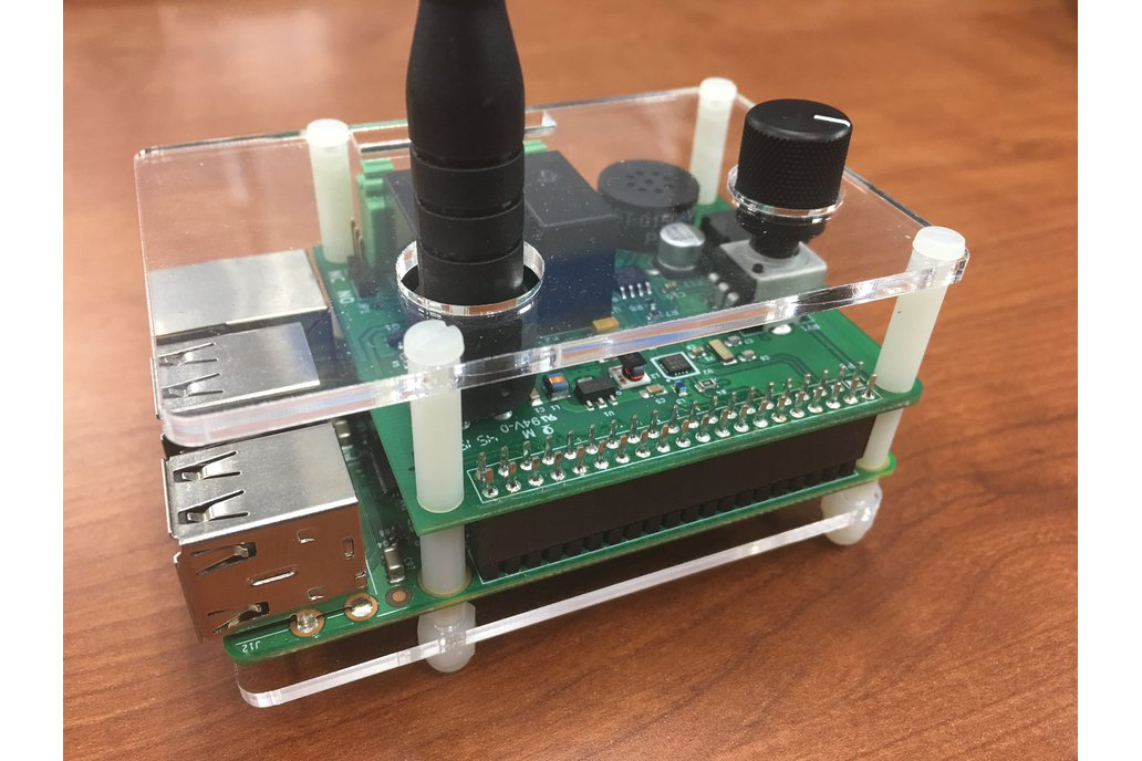 Acrylic Case w/ Standoff Kit 1