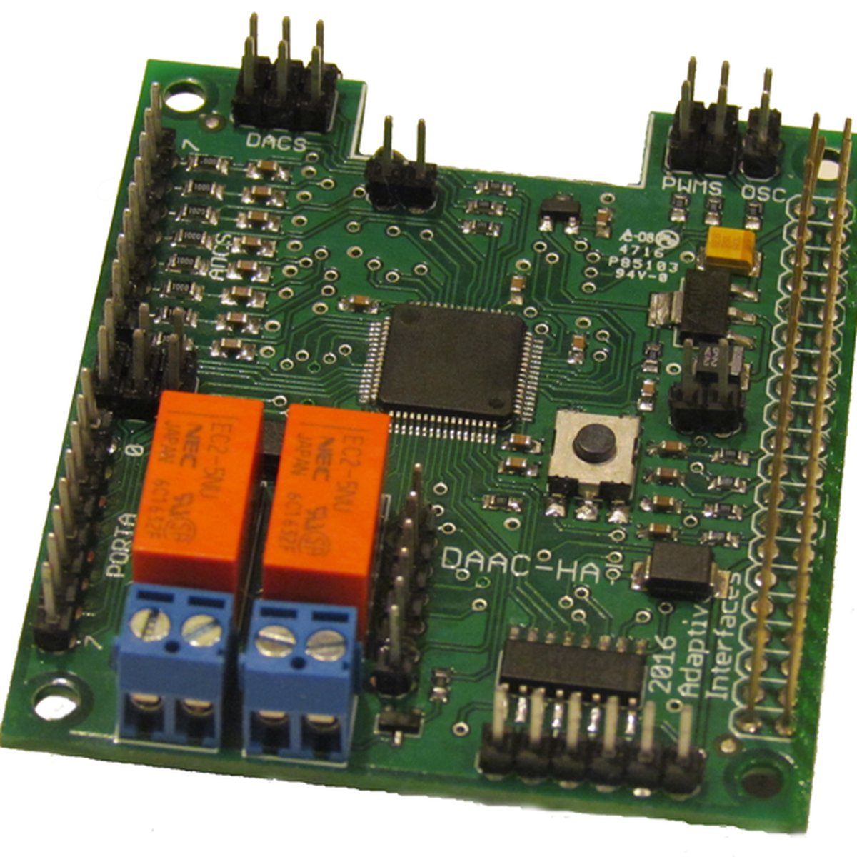 DAAC-Hat for Raspberry Pi from Adaptive Interfaces on Tindie