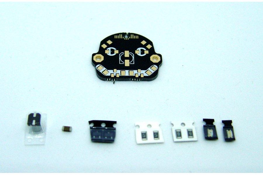 Robot Head - LED learn to solder kit