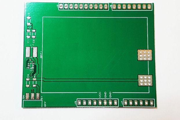 Battery Shield Bare Board for Arduino Uno with BOM