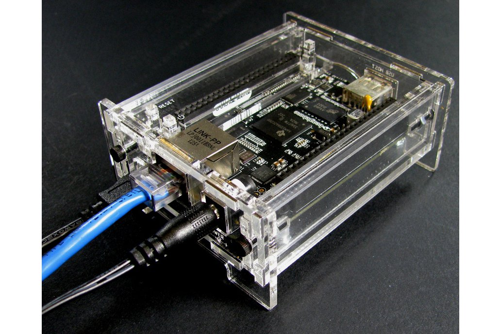 BeagleBone Black Enclosure - Clear Acrylic 3
