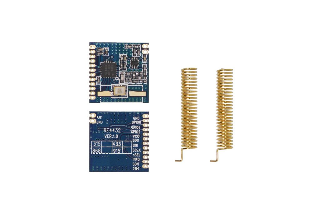 2pcs 433MHz FSK wireless transceiver module RF4432 5