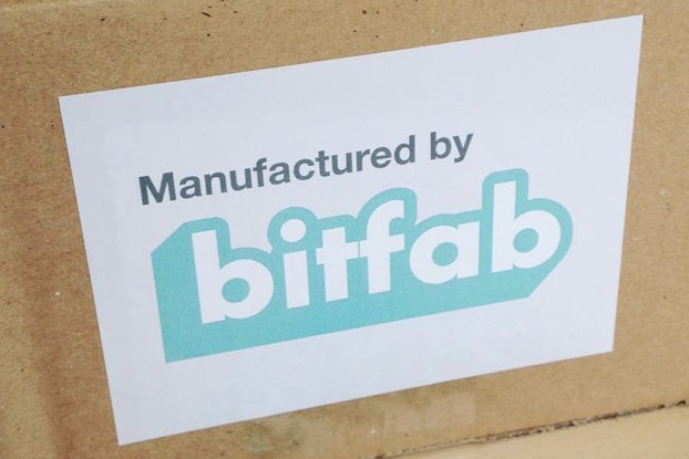 Bitfab stickers