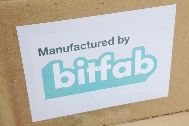 Bitfab stickers