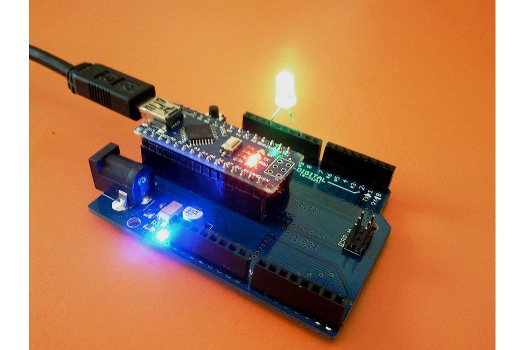 Arduino Nano to Arduino Uno adapter