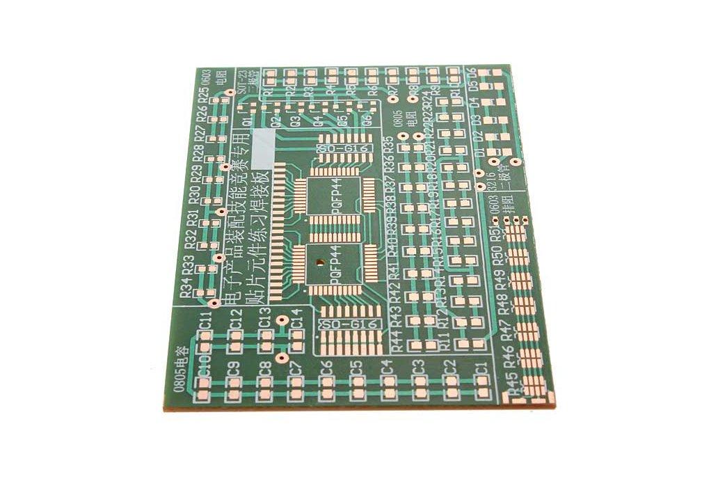5 Pc SMD Component Solder Practice Kit 3